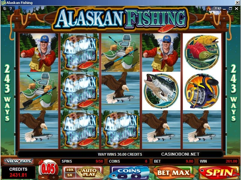 Der Slot Alaskan Fishing – kostenlose Demoversion online