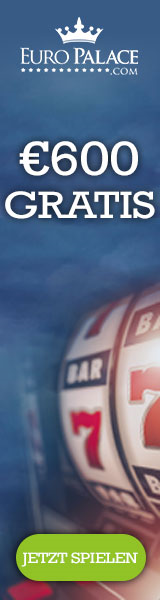 600 EURO Bonus im Europalace Casino