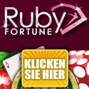 Ruby Fortune Online Casino mit bis 750€