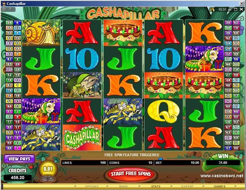 100 Linien Slot im Microgaming Online Casino