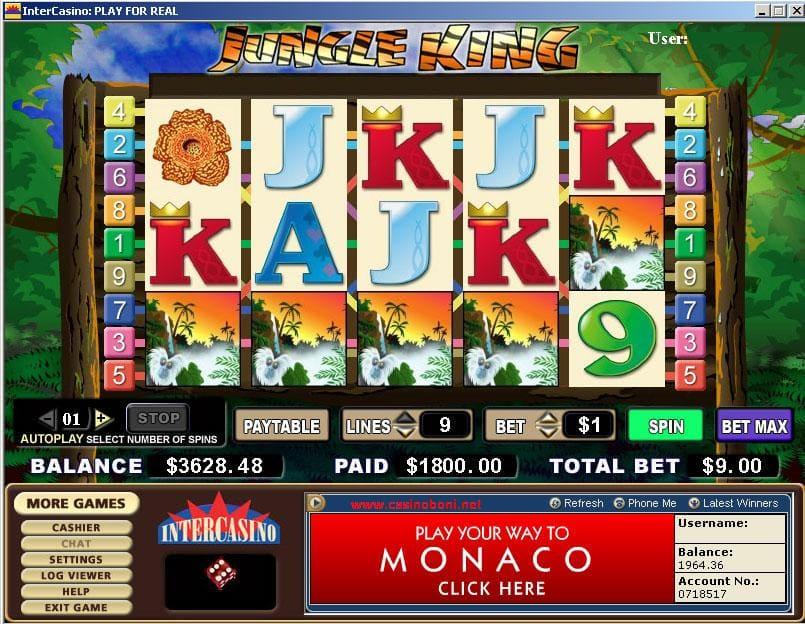 Casino Spiele - Jungle King