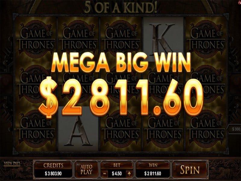 Game of Thrones - der Fantasy Slot im Microgaming Casino
