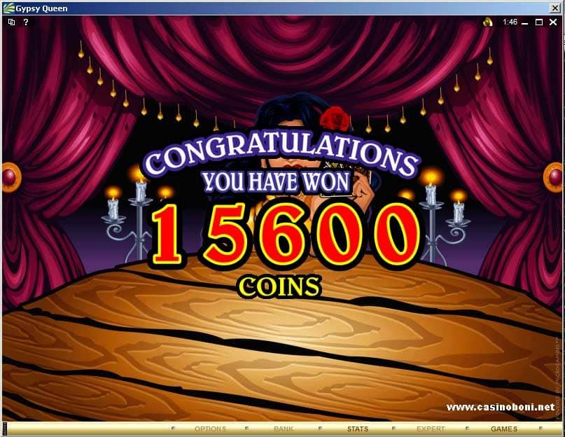 Online casino bonus Gypsy Queen Video Slot