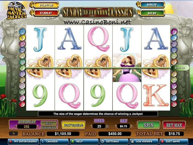 Romantisch - Sunday Afternoon Classics - Movie Mayham Jackpot online Casino videoslot