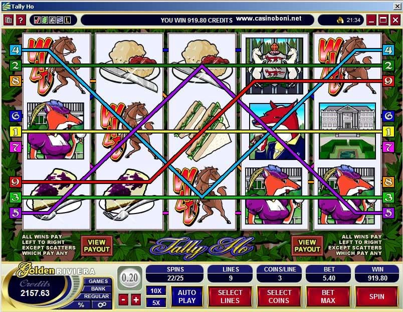 TallyHO Casino Slot