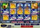 Online Casino Gewinne - Thunder Struck - volle Gewinnlinie