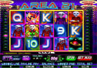 Area 21 - win at 25 lines an try out the superior blackjack bonus game