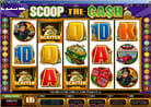  25 Linien Online Casino Bonus Slot - Scoop The Cash - mit Bonusfeature und Freispielen 