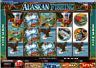 im Internet den Casino Online Slot - Alaskan Fishing online spielen und in der Fly Fishing Bonus Runde dicke Gewinne angeln 