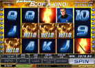 im Free Game Feature des Online Casino Slots Fantastic 4 durch Freezing Wilds coole Geldgewinne erzielen