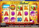 with minimal three Scatter you win 15 freespins at Party Island 15