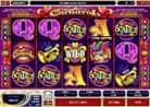 Carnaval Casino Slotmachine - 5 Scatter Gewinn